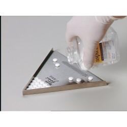 Compte-comprimés triangulaire