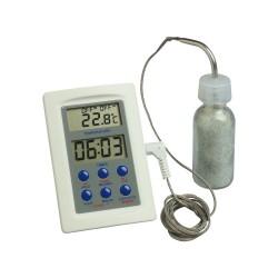 Thermomètre digital en flacon avec décompteur