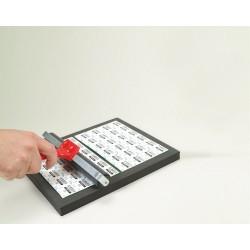 Support pour tablettes rondes