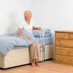 Barre de lit avec pied