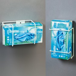 supports pour boîtes de gants en fil d'acier époxy