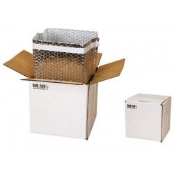 boîte cartonnée isotherme