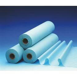 Drap d'examen imperméable 2 plis - Bleu