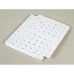 Etiquettes pour tablettes de condtionnement rondes Classe A