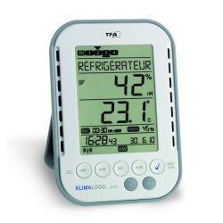 Kit de surveillance de température de réfrigérateur KlimaLogg avec sonde