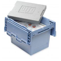Boîte de transport kit d'isolation thermique