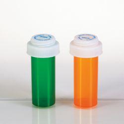 Flacons plastique avec couvercle réversible