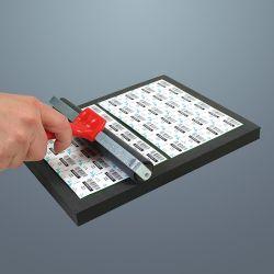 Support pour tablettes alvéolées rondes