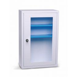 Armoire à pharmacie 1 porte avec fenêtre