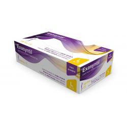 Gants d'examen Vinyle Exasyntil® stretch non poudrés - Boîte de 100