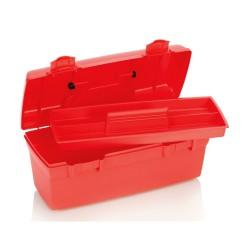 valise d'urgence avec 2 points de fermeture et plateau amovible