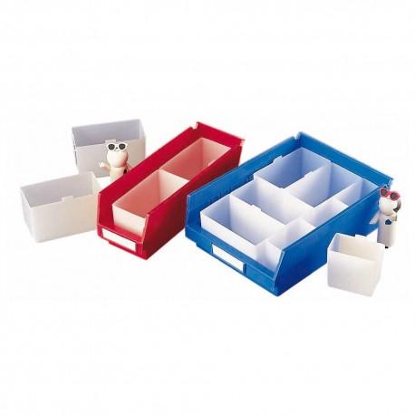 compartiments pour bacs