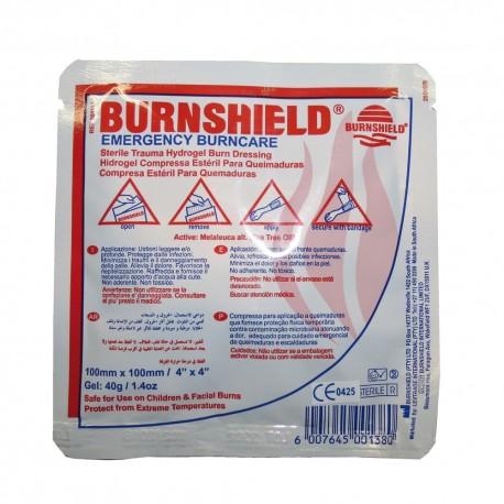 compresse burnshield