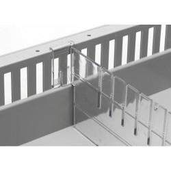 Division polycarbonate pour bac ABS