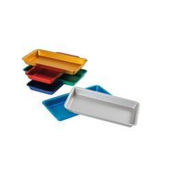 Plateaux aluminium de couleur