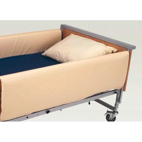 pare-chocs longs pour rambarde de lit