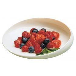 Assiette ronde avec rebord Gripware