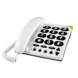 téléphone doro phone easy 311c blanc