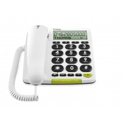Phone Easy 312cs blanc