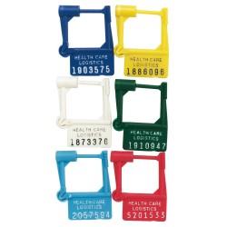 scellés de sécurité cadenassés numérotés