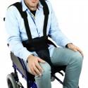 Aide au maintien des patients en fauteuil roulant